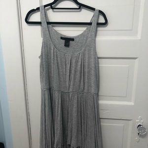 NWOT MbMJ Grey Jersey Tank Dress